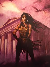 amazons warriors percy jackson. Otrera The Amazon Warrior Illustration From Percy Greek Heroes And Amazons Warriors Jackson Pinterest
