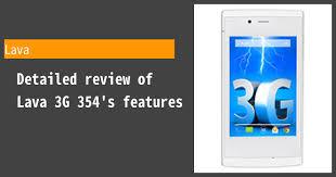 Lava 3G 354 ...