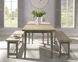 dining room table bench. Exellent Room DOVE GREY Dining Bench With Very Solid Hardwood Seat QUALITY Kitchen  Table Wooden Throughout Dining Room Table Bench