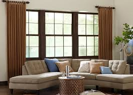 blinds for living room windows. traditional tab top side panels blinds for living room windows a