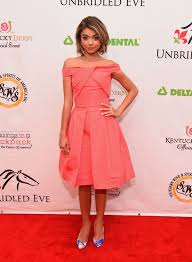 Kentucky Derby Hairstyles Sarah Hyland At The 141st Kentucky Derby Fashion Sizzle