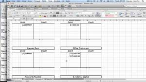 Excel T Chart Template Excel T Accounts Template Kozen Jasonkellyphoto Co