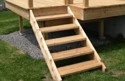 stairs with open rises building a simple deck65