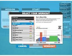 fire up zwift like normal pair your sensors and go to the start screen for the ride type the select workout on and you will see a screen