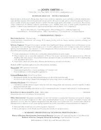 Resume Template For Business – Directory Resume Sample