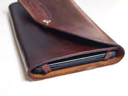 picture of diy leather tablet case