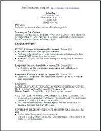 Combination Resume Samples Free Functional Resume Template Resume ...