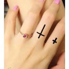 Dočasné Tetování Kříž Poštovnézdarmacz