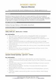 daycare director resume daycare director resume template child care objective statement