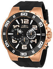 invicta pro diver wristwatches invicta men s pro diver quartz stainless steel and polyurethane watch 24672