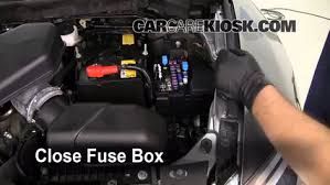 replace a fuse 2007 2015 mazda cx 9 2009 mazda cx 9 touring 3 7l v6 How To Replace A Fuse Box In A Car replace cover secure the cover and test component how to replace a fuse box in a 1969 mustang