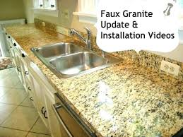 fake granite countertops home depot fake granite faux granite mutes side finish kitchen concrete fake fake fake granite countertops