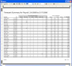 Timecard Rounding Chart Leave Management Software Time And Attendance Software