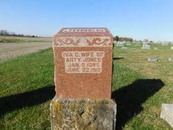 Iva C Hallowell Jones (1885-1912) - Find A Grave Memorial
