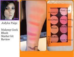 makeup geek blush starter kit review