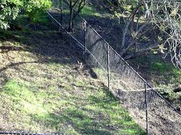 installing a chain link fence installing chain link fence on uneven ground round designs installing chain