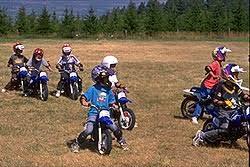 mini moto crashes