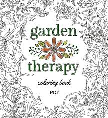 coloring book pdf garden therapy coloring book garden therapy chiefs coloring pages