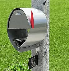 unique residential mailboxes. Fine Unique Spira Stainless Steel Unique Post Mount Mailbox Inside Residential Mailboxes I