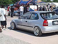 honda civic hatchback 2000. Picture Of 2000 Honda Civic CX Hatchback Exterior For