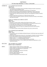 Call Center Skills Resume Call Center Sales Resume Samples Velvet Jobs 27