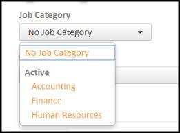 Administrators: Jobs: How do I add Job Categories?