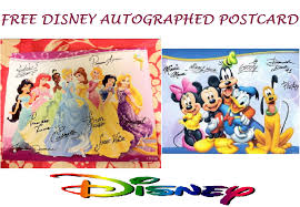 they can write a letter to their favorite disney character and get an autographed postcard in return allow about 4 6 weeks for the