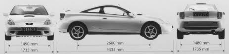 The-Blueprints.com - Blueprints > Cars > Toyota > Toyota Celica