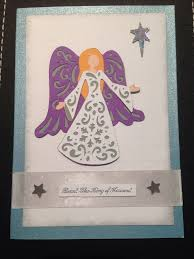 74 best Cricut Quilted Christmas images on Pinterest | Card ideas ... & Handmade angel Christmas card. Made using 'A Quilted Christmas' Cricut  cartridge. Adamdwight.com