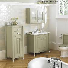 Bargain Outlet Kitchen Cabinets English Heritage Designer 800mm Ivory 2 Door Bathroom Mirrored