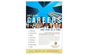 Recruitment Brochure Template Images Of Unique Human Resource Recruitment Flyer Template