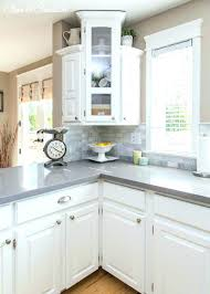 white cabinets grey countertop kitchen ideas with white cabinets dark
