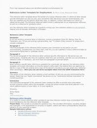 Job Reference Letter Template Awesome Reference Letter For