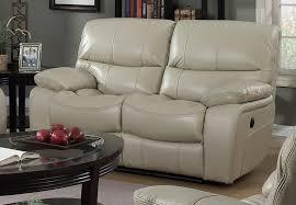 elements vino power reclining loveseat cream leather match