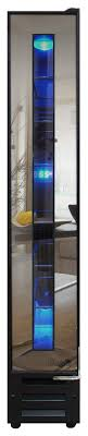 built in wine fridge. Vinotemp - 7-Bottle Built-In Wine Cooler Black Larger Front Built In Fridge