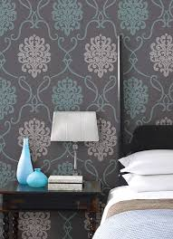 Small Picture 47 best Bedroom wall design images on Pinterest Damasks Bedroom