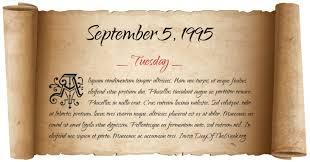 Image result for September 5, 1995