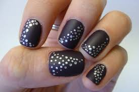 50 Best Ideas About Black Nail Images 2017   Nail Art Images