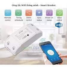 BH 12T] Công tắc Wifi thông minh Smart Breaker