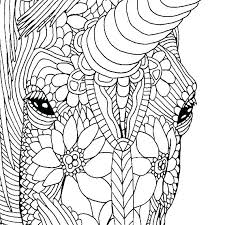 Unicorn Printable Coloring Pages Coloring Book Page Intrabookclub