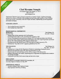 Cook Resume Objective cook resume objective cook resume skills chef resume sample TGAM 35
