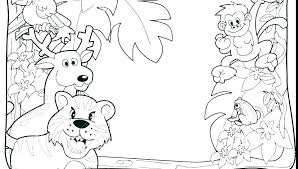 Safari Coloring Pages Jungle Safari Coloring Pages Animal Coloring