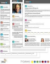 Microsoft Template Resume Adorable Resume Template Linkedin Linkedin Resume Template 48resumes Free And