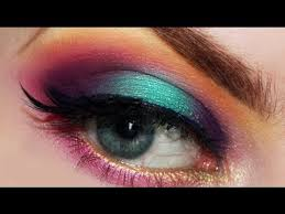 rainbow makeup tutorial for pride using sugarpill cosmetics