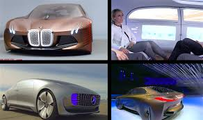 BMW Convertible bmw future commercial : BMW Vision vs Mercedes F015 Self Driving Cars Of The Future Video ...
