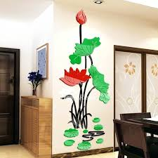 flower wall decals pictures show flower wall decals 3d flower vase wall decals