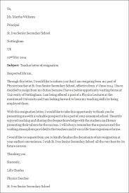letter of resignation sample  letter of resignation templateletter of resignation