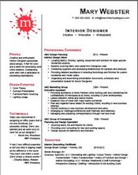 Keyword optimized and customizable Interior Designer #resume #template.  ($45)