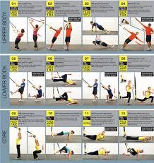 Training Exercises Trx Suspension Training Exercises Pdf