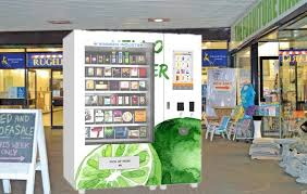 Fruit Vending Machines New Custom Fruit Salad Vending Machines Frozen Vending Machine Touch